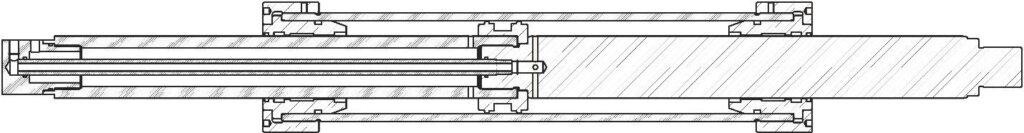 Гидроцилиндры двухстороннего действия