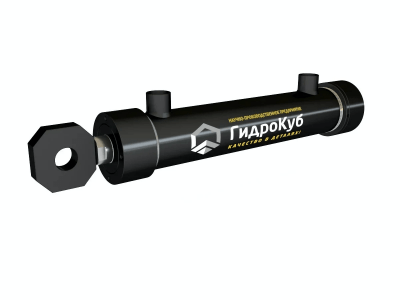 Threaded Hydraulic Cylinder with Head Fixed Eye