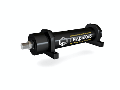 Welded Hydraulic Cylinder with Foot Mounting