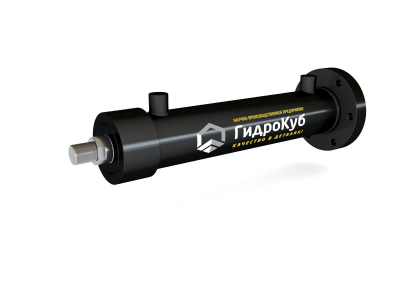 Welded Hydraulic Cylinder with Round Cap Flange