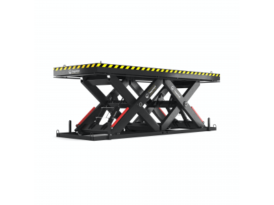 Double Horizontal Scissor Lift Table