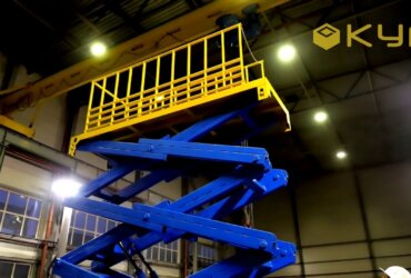 Lift Table for Mining Works