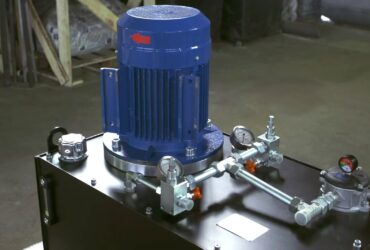 Hydraulic Power Pack with Tandem Pump