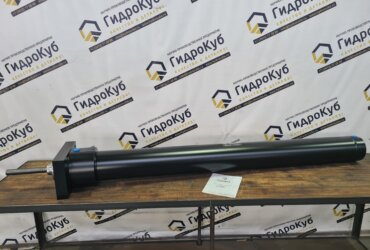 Telescopic welded hydraulic cylinder