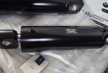 Hydraulic cylinder with front and Cap Fixed Eyes