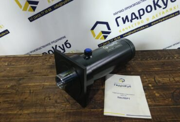 Hydraulic cylinder with front flange, stroke 227
