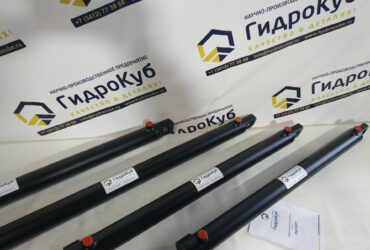 Welded hydraulic cylinders with a stroke of 867 mm