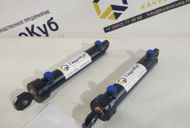 Welded hydraulic cylinder with lifting eye bolts