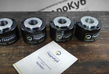 Hydraulic cylinder, smooth-holed lifting eye bolt, stroke 1,000