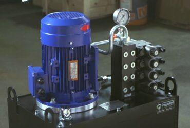 Hydraulic System for Endmilling Machine