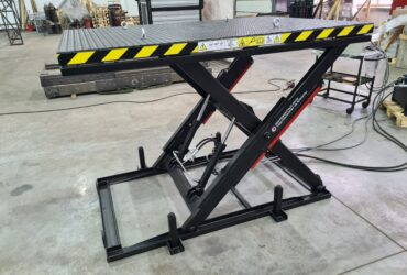 Single scissor lift, 400 kg