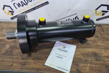 Hydraulic cylinder with a head flange, stroke 200