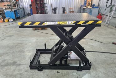 Single scissor lift, 1300 kg