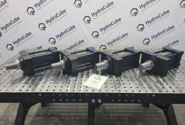 Tie rod hydraulic cylinders, stroke 150