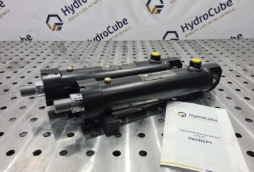 Welded hydraulic cylinders. Stroke 200