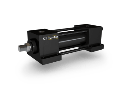 Tie Rod Hydraulic Cylinder with Foot Mounting