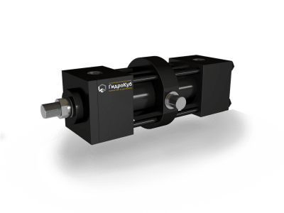 Tie Rod Hydraulic Cylinder with Intermediate Trunnion Mounting