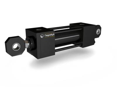 Tie Rod Hydraulic Cylinder with Eyes and Spherical Bearings