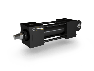 Tie Rod Hydraulic Cylinder with Cap Fixed Eye with Spherical Bearing