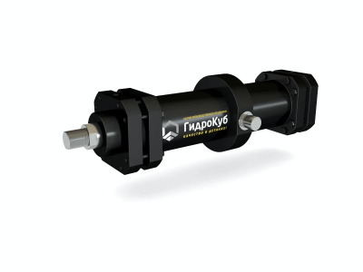 Mill Type Hydraulic Cylinder with Intermediate Trunnion Mounting