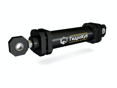 Mill Type Hydraulic Cylinder with Eyes and Spherical Bearings