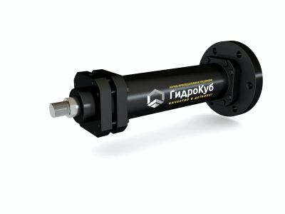 Mill Type Hydraulic Cylinder with Round Cap Flange