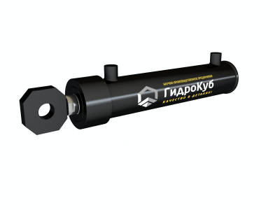 Welded Hydraulic Cylinder with Head Fixed Eye