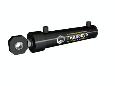 Welded Hydraulic Cylinder with Head Fixed Eye with Spherical Bearing